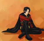Red Robin by Xinjay