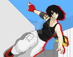 Mirror's Edge: Faith Connors by SpongeDudeCoolPants