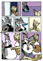 Comic Commission: Feast [clean] 6/7 by TheStitchyHeart