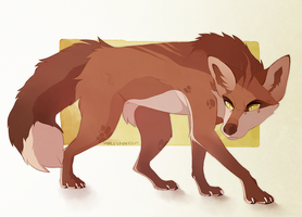 Vulpes by MapleSpyder