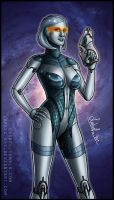 Mass Effect: EDI by Lukael-Art