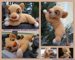 Small Jemini Kiara Plush by DoloAndElectrik