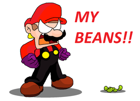 MY...BEANS!!!!!!!!!!! by luigikirby64