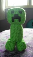 Amigurumi Minecraft Creeper by FuzzyViper