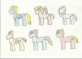 Gordon 1 ponies- Part one. by The-rogue-shadow