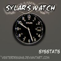 Sylar Watch Docklet Skin by vesterdesigns