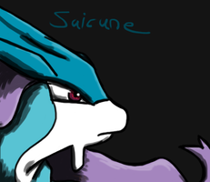 Suicune by Helkie-three