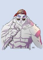 hey mr yeti by MeloMonaco