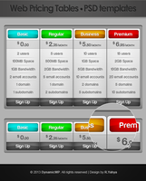 Frebie: Web Pricing Tables by yahya12