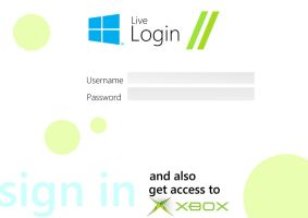 Metro: Windows Messenger Login by MrTechnoholic