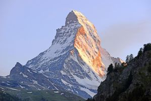 Matterhorn meet sunshine by ageratum00