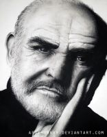 Sean Connery by AsiaMurray