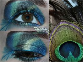 Peacock Make Up by Talasia85