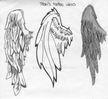 wing tattoo ideas by reenie4790