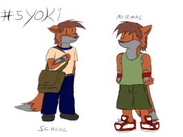 My character list 05: Yoki by 2-D-likespizza
