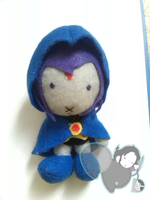 Raven Plushie by PiNKy0421