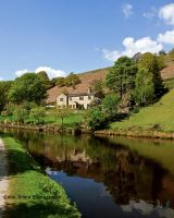 Walsden by the Canal by irwingcommand