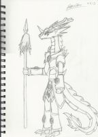 Dragon Knight by rosey996