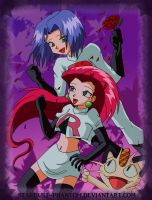 Team Rocket Joy *colour* by Stardust-Phantom