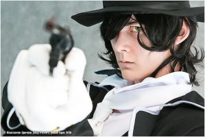 Pandora Hearts - Gilbert by Gekidan