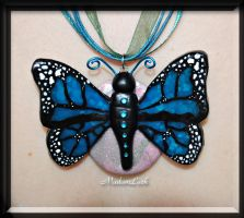 Blue Butterfly by MadamLuck