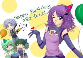 Birthday Mez by SasamiInu