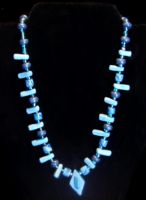 beaded necklace by KRSdeviations