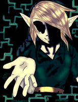 BEN DROWNED:Virus Colored:: by hetaliagirl101