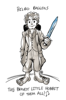 Bilbo Baggins by monkette