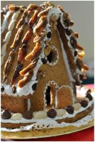 Hansel et Gretel gingerbread house by MissUmlaut