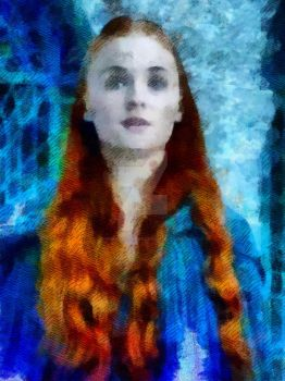 Sansa Stark - Game of Thrones by WisdomAlchemy