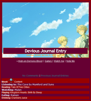 UsUk Journal Skin 2 by Buono101