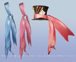Hat of Mad Hatter and Ribbon png by Wesley-Souza