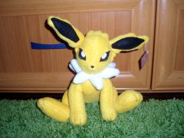 Jolteon plush by WolfPink