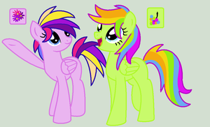 MLP Sisters Adoptable Auctions by MonkFishyAdopts