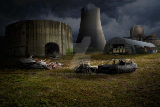 Premade Nuclear Background by benamente