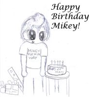 Mikey, by doodlerwoo