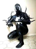 MY COMPLETED SYMBIOTE SPIDERMAN COSTUME by symbiote-x