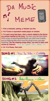 Music Meme: equira by Narsilion