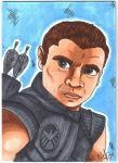 Hawkeye by Cheekydesignz