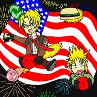 HAPPY AMERICA DAY 2014 by YamiNetto