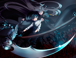 Wide Reach of the Scythe by Aerial-and-Brain