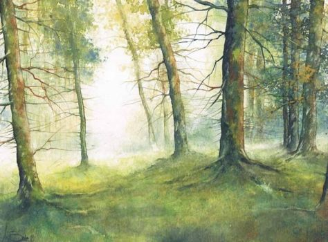 My grandparents forest by petiteartiste666