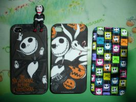 My Jack Skellington iphone cases by BatPumpkin