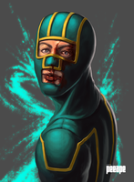 KICK-ASS portrait by peeape