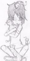 Greece and his Kitties by Topia37