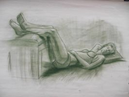 Figure Drawing 7 by MelissaKateN