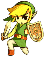Wind Waker Link Collab by Daboya