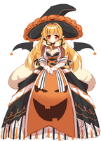 Witch Hunt: Pumpkin Queen Adopt (Closed) by Nijiiru