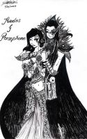 Hades and Persephone by Amionette